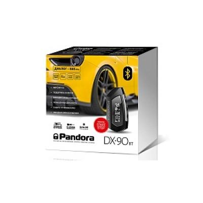 Автосигнализация Pandora DX 90BT 2CAN-LIN+IMMO-key (2 брелока + метка ВТ-760 + реле BTR-101)