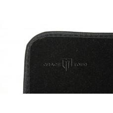 Дополнительный ворс текстильный черный гладкий