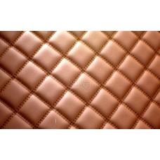 Автомобильный коврик в багажник 2D Люкс светло-коричневый