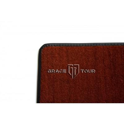 Дополнительный ворс текстильный светло-коричневый гладкий