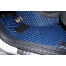 Автоковрик Люкс 3D синий