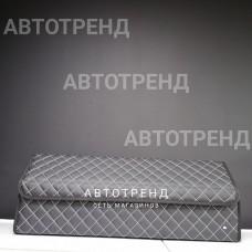 Кофр-органайзер в багажник LONG (Черный/Белый/Черный)