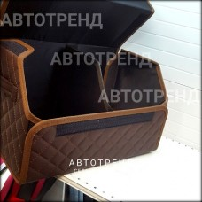 Кофр-органайзер в багажник (Коричневый/Коричневый/Коричневый)