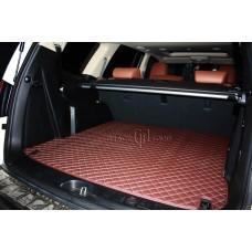 Автомобильный коврик в багажник 2D Люкс бежевый