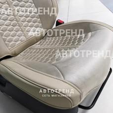 Накидки на сиденья 3D Stalker Бежевый