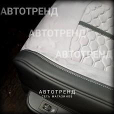 Накидки на сиденья 3D Stalker светло-серый