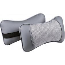 Подушка под шею Ромб темно серый/темно серый/темно серый
