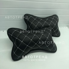 Подушка под шею /Чёрный+Белый