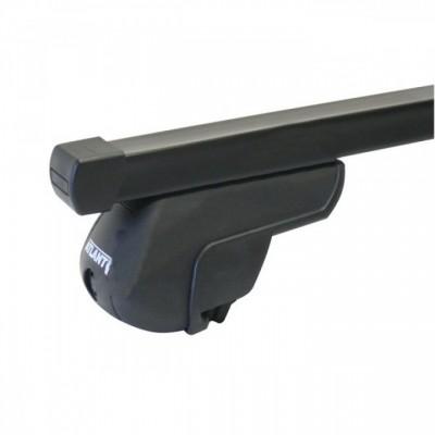 Багажник на КРЫШУ АВТОМОБИЛЯ С РЕЙЛИНГАМИ/ стальные дуги - нагрузка до 70 кг