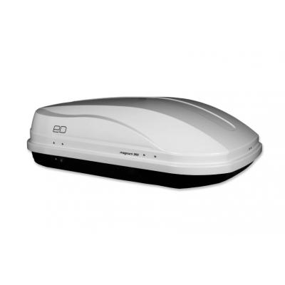 Бокс автомобильный Евродеталь `Магнум 350` (белый металлик) БЫСТРОСЪЁМНЫЙ
