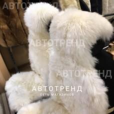 Меховые накидки из австралийской овчины (Длин.ворс - Белый)/весь салон