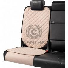 Накидка под детское кресло CANTRA / Белый с белым кантом