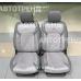 Накидки на сиденья 3D STING серый