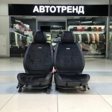 Накидки на сиденье MONACO черный/черный