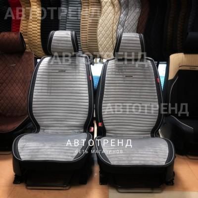 Накидки на сиденье MONACO PLUS серый/черный/весь салон