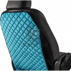 Защитная накидка на спинку сиденья CANTRA / KICK ПРОТЕКТОР Голубой