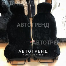 Накидки из овечьей шерсти (Черный)