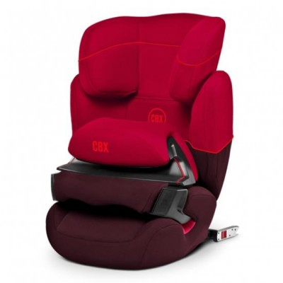 Автокресло детское CBX by Cybex Aura-Fix  Rumba Red 9-36 кг