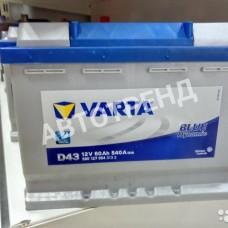 Аккумулятор автомобильный Varta 60 Ач Обратная полярность