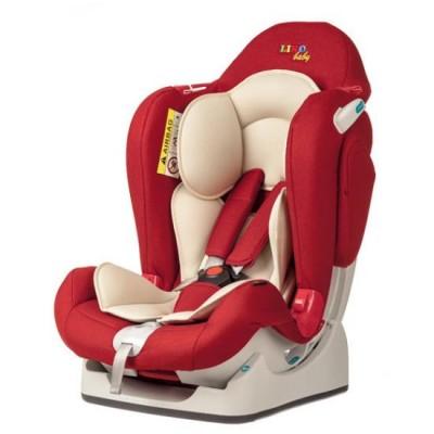 Автокресло детское Liko-Baby Красный (0-25 кг)