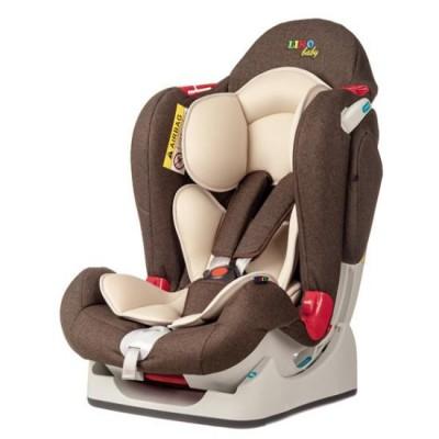 Автокресло детское Liko-Baby Темно-коричневый (0-25 кг)
