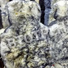 """Меховые накидки из овчины """"Экстра"""" (Пестро-черный)"""