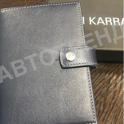 Обложка для автодокументов и паспорта NERI KARRA с гладкой текстурой